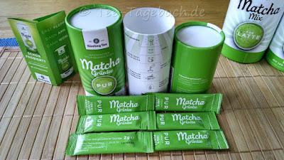 Bünting Matcha Gründer Tee pur - der Dosen-Inhalt