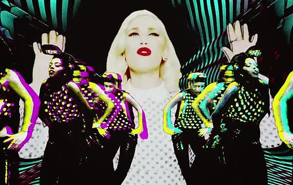 Gwen Stefani presented the clip