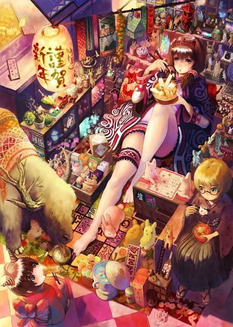 anime girls,wallpaper, cute