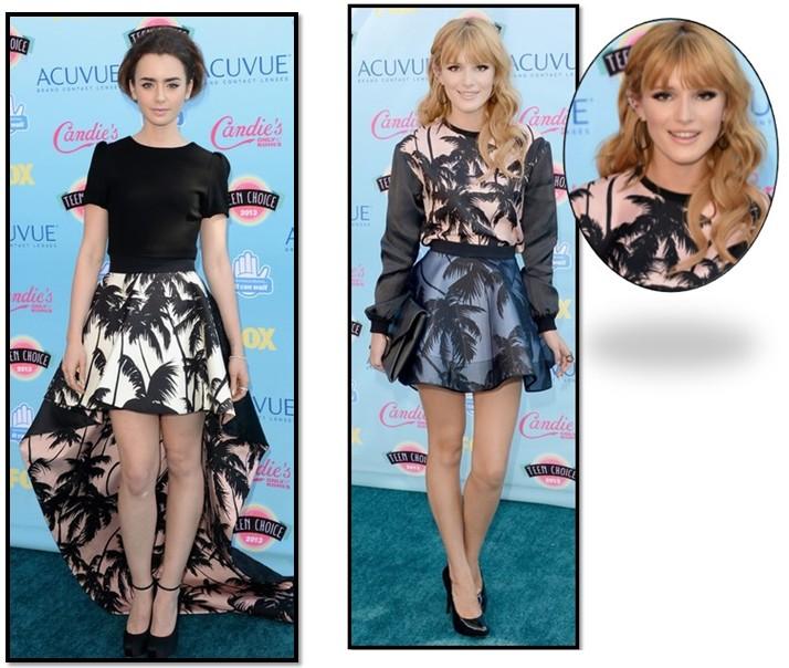 vestidos premios TCA 2013