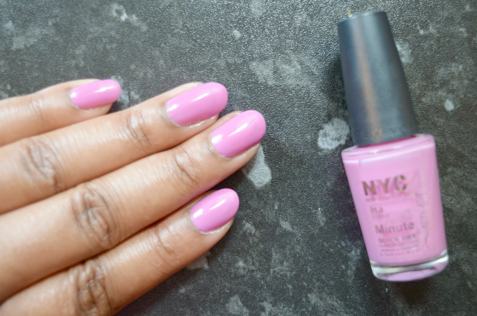 NYC Lincoln Square Lavender - Mellies Corner Monday Mani