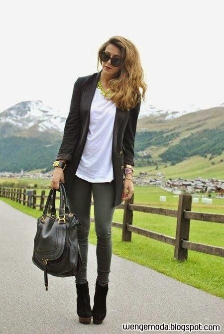 Yeni Moda Bayan Blazer Ceket Modelleri