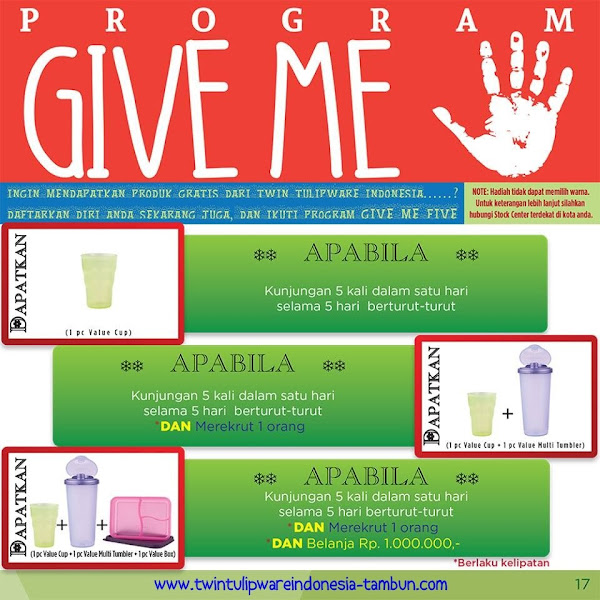 Program Give Me Five 2015