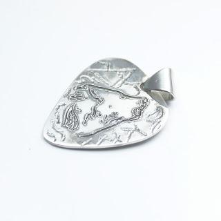 puas de plata personalizadas plata colgante