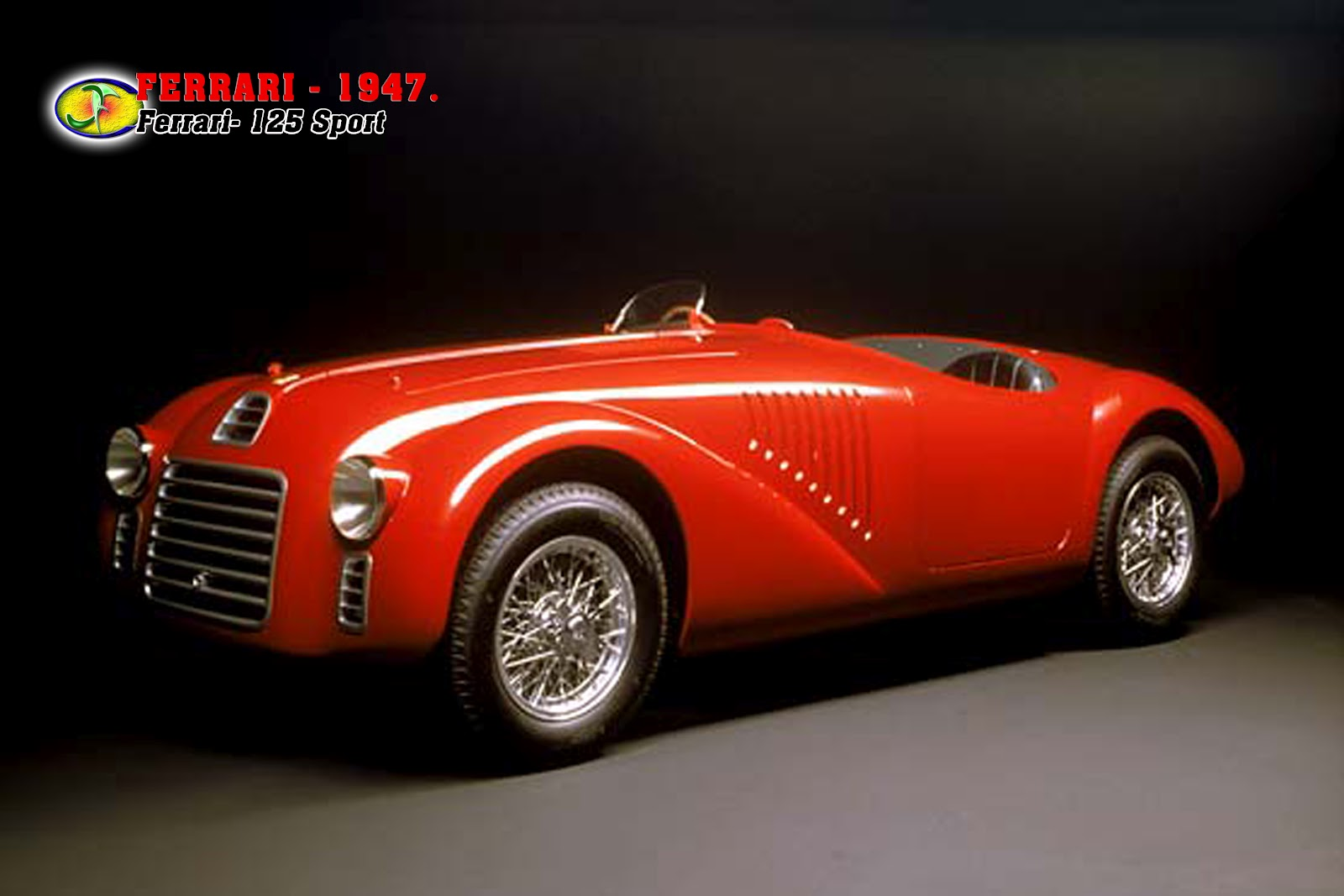 autom veis ferrari 1947 ferrari 125 sport. Black Bedroom Furniture Sets. Home Design Ideas
