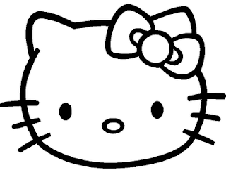 Dessin pour colorier hello kitty