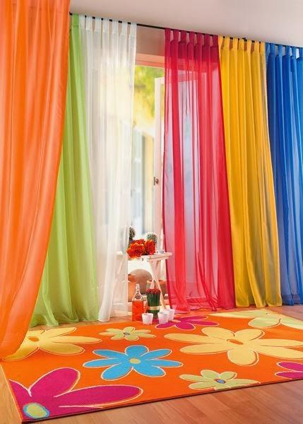 Choisir les meilleurs rideaux pour votre salon d coration salon d cor de salon - Rideau de salon ...