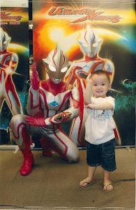 Jared & Ultraman Mebius