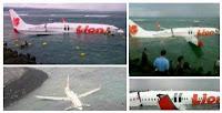 VIDEO YOUTUBE KRONOLOGIS KECELAKAAN LION AIR JATUH & TERBELAH DI LAUT BALI 2013 [FOTO] Daftar Nama Korban Lion Air Di Laut Bali