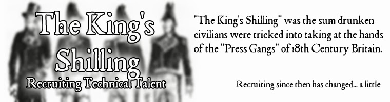 The King's Shilling - Recruiting Technical Talent
