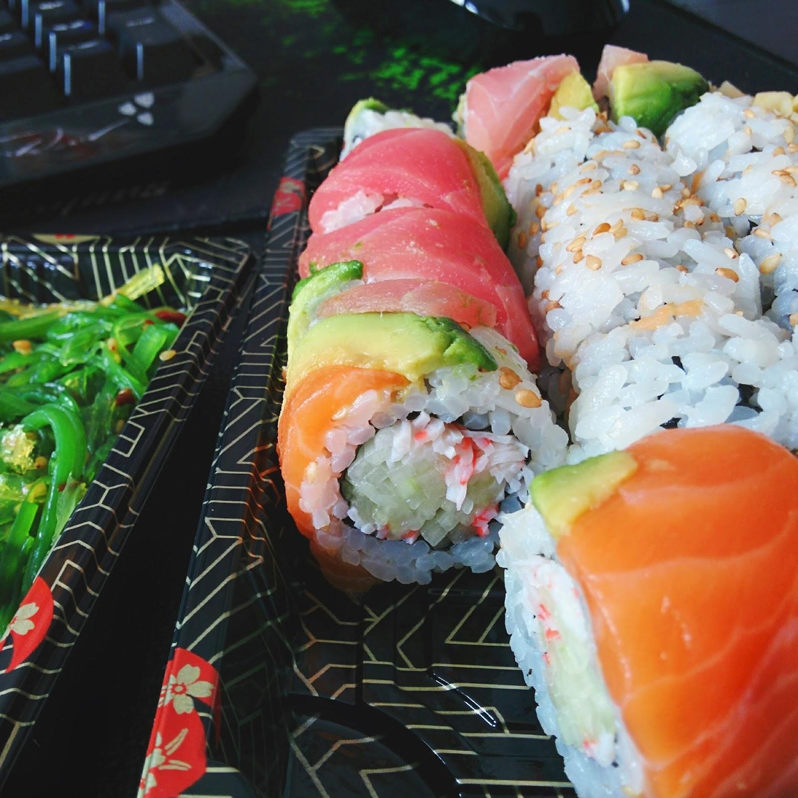 sushi, flushingfood.com, sarku japan