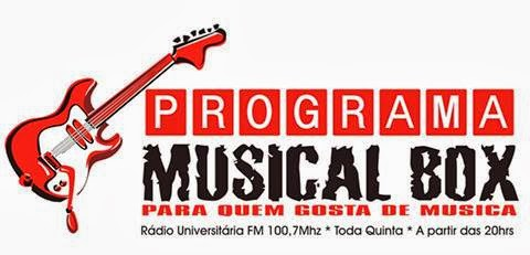 PROGRAMA MUSICAL BOX (Rádio Universitária de Viçosa)