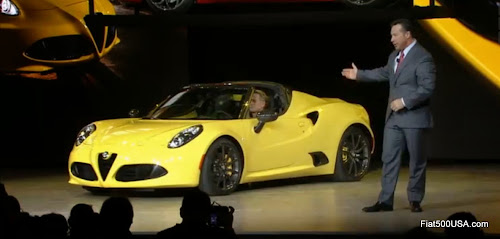 Alfa Romeo 4C Spider Introduction