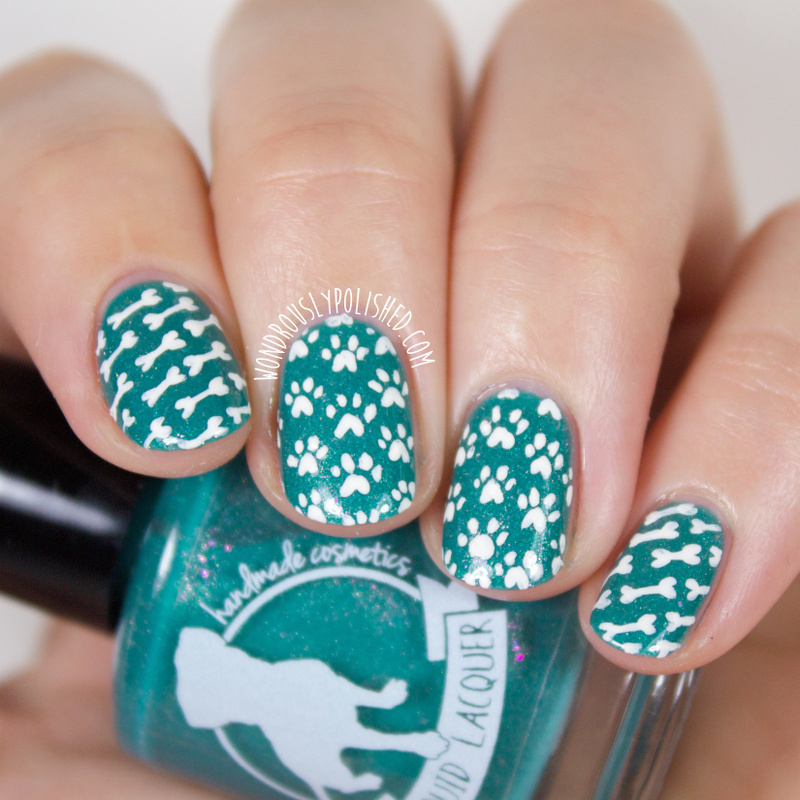 Wondrously Polished: ALIQUID Lacquer - Puppy Love LE Charity Polish ...