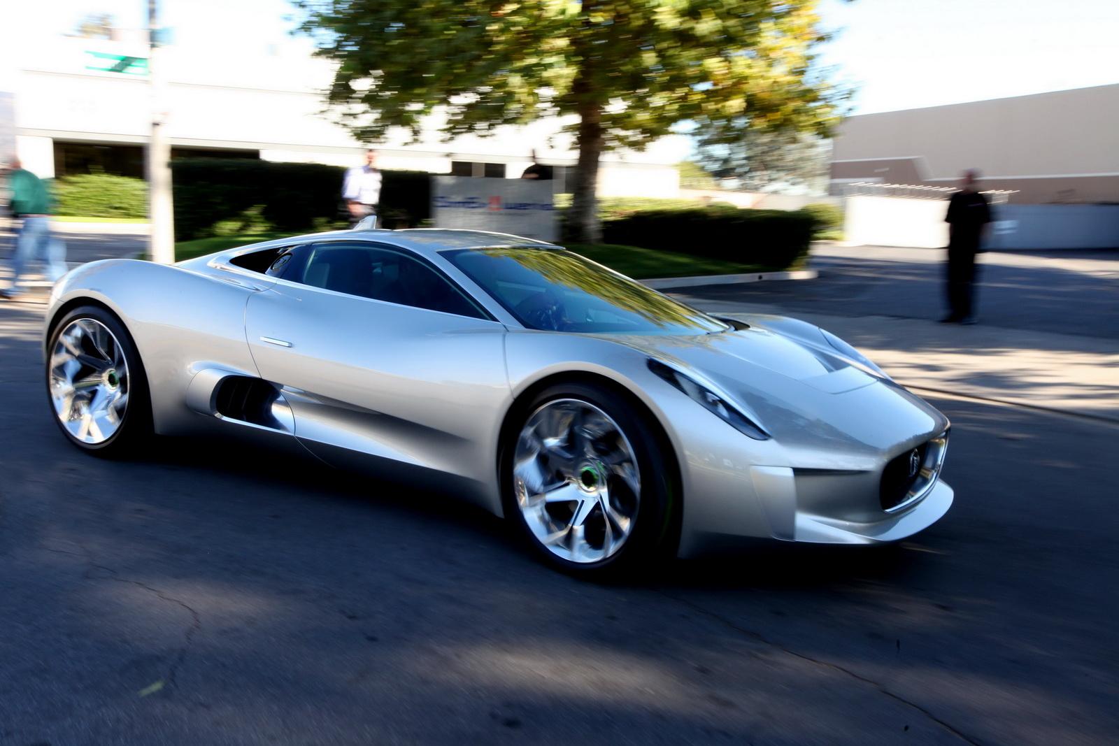 jaguar to build c x75 hybrid supercar. Black Bedroom Furniture Sets. Home Design Ideas