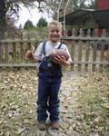 MY BOY CLAYTON (GRANDSON)