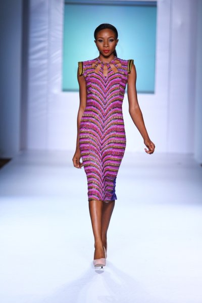 Iconic invanity kitenge-dress-MTN lagos fashion and Design week 2012: Iconic invanity-modele-de pagne-africain