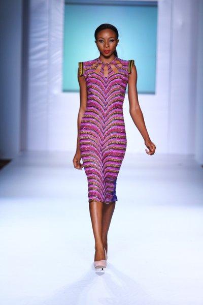 Iconic invanity kitenge-dress-MTN lagos fashion and Design week 2012: Iconic invanity-modele-de pagne-africain