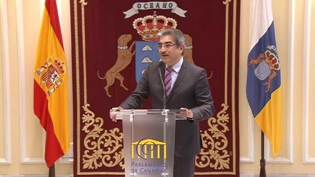 Román Rodríguez candidato a la Presidencia por Nueva Canarias