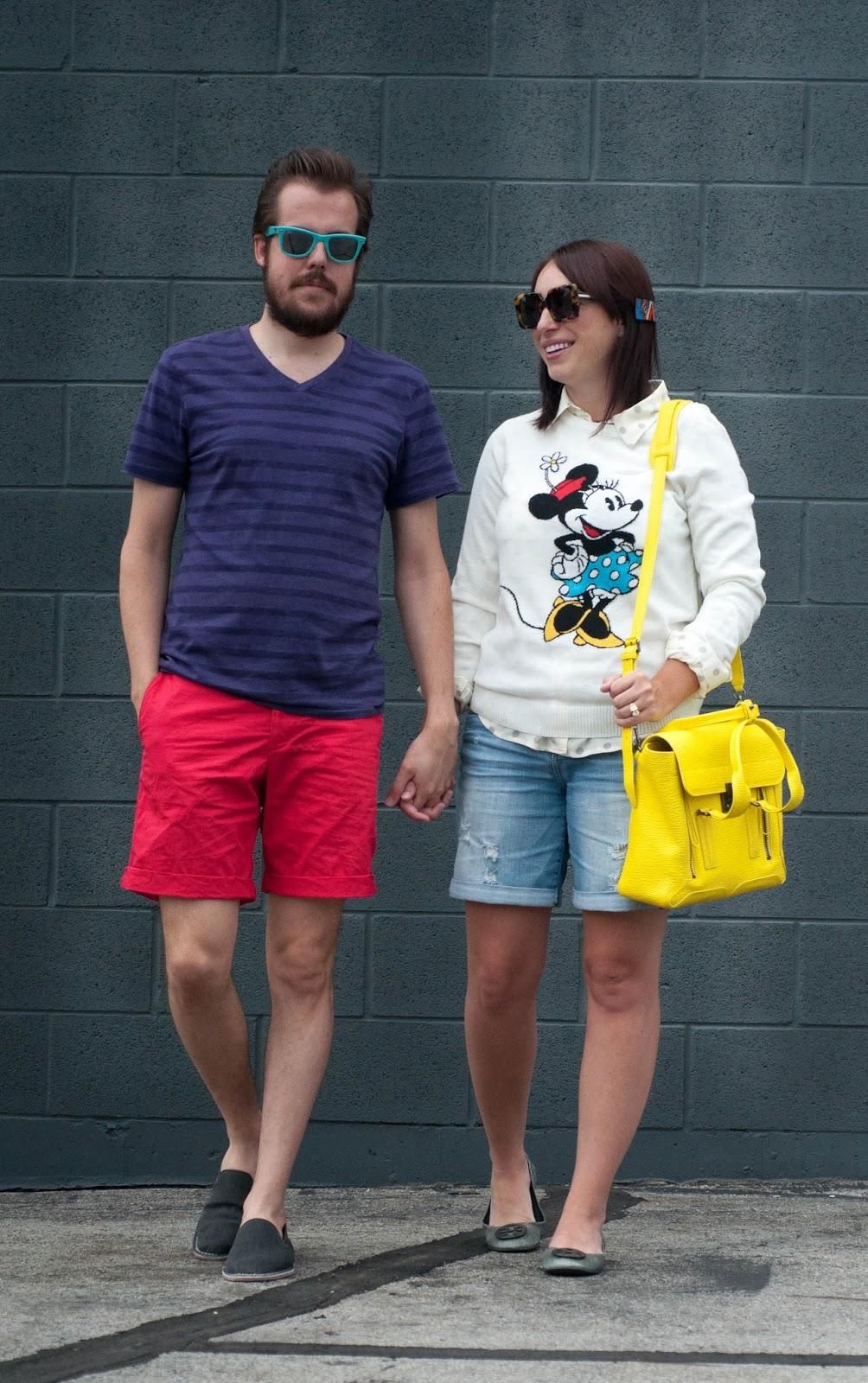 couple fashion, ootd, mens ootd, style blog, fashion blog, tory burch reva flats, wiw