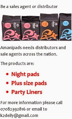 Amani Sanitary Pads and Pantyliners