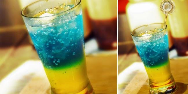 Resep Minuman Segar Blue Sky Punch