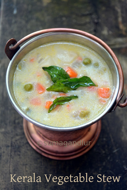 Kerala Vegetable Stew / Vegetable Ishtoo