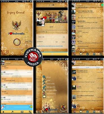 BBM Mod Tema I Love Indonesia Versi Terbaru 2.8.0.21 Apk