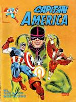 Portada de Capitán América Mundicomics Nº 1 Ediciones Vértice
