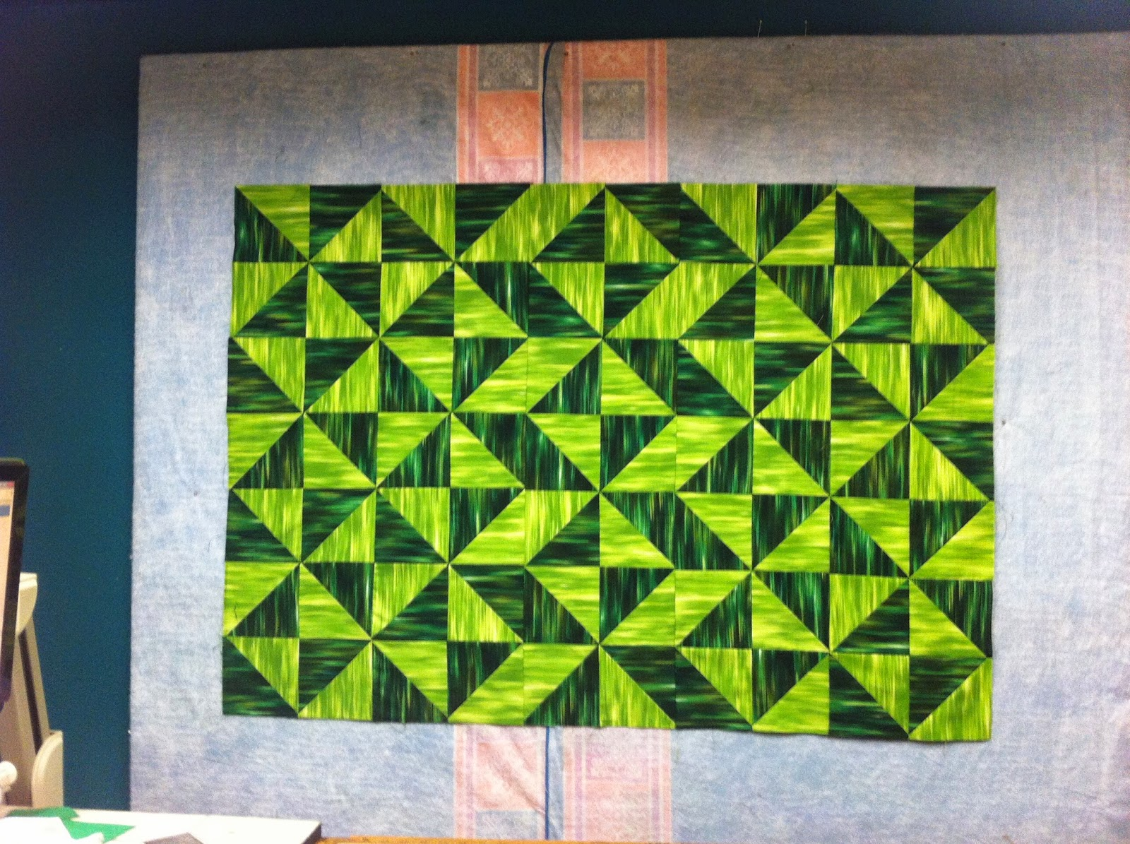 Amazing photo of Ask Mel: What Does Modern Traditional Quilting Mean? The Quilting  with #86B615 color and 1600x1195 pixels