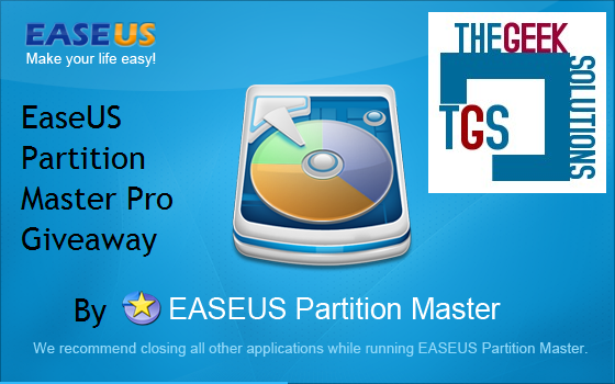 Win 4 Licenses of EaseUS Partition Master Pro