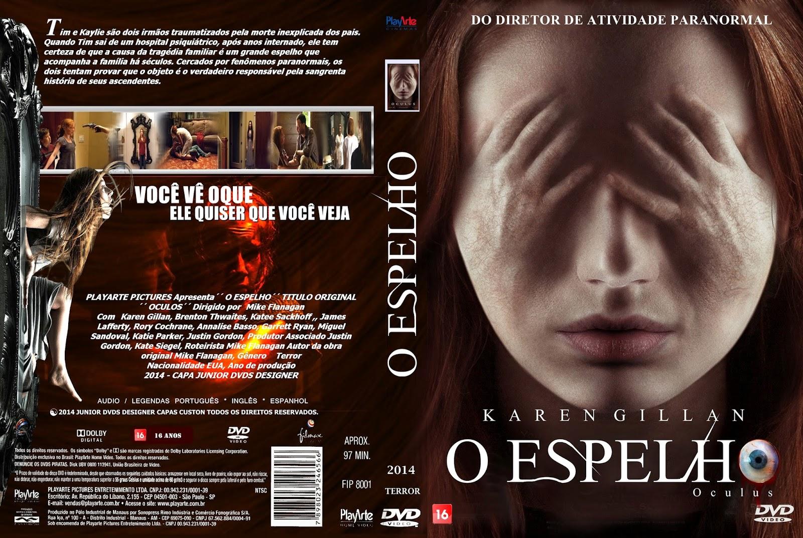 Download O Espelho DVD-R CAPA DO FILME O ESPELHO   JUNIOR DVDS DESIGNER