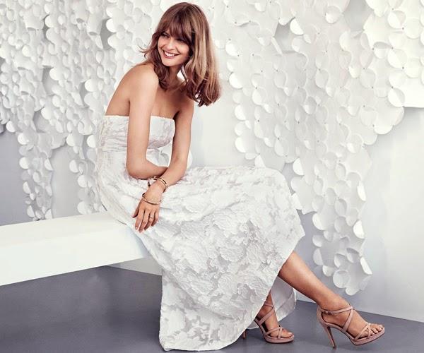 H&M celebración vestido largo