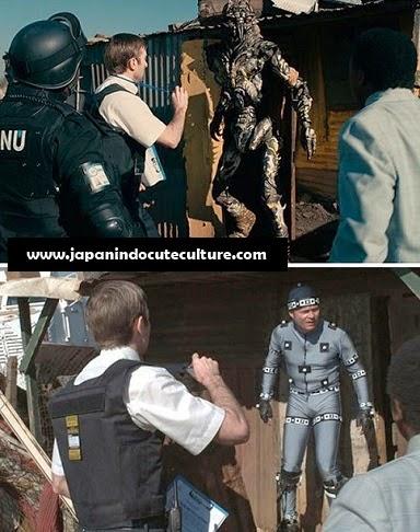 Efek Menakjubkan Di Balik Layar Film Hollywood Districk 9