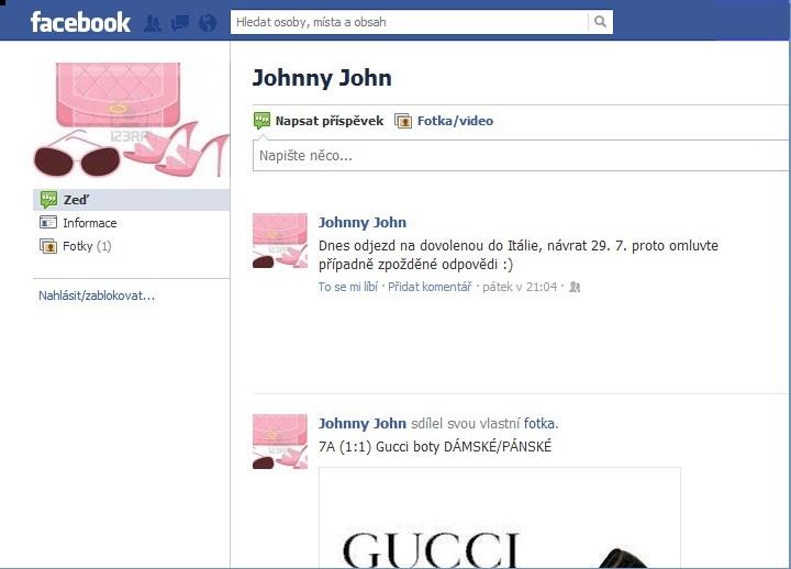 Protivná blondýna  Superpřekupník Johnny John cb2fb41b56b
