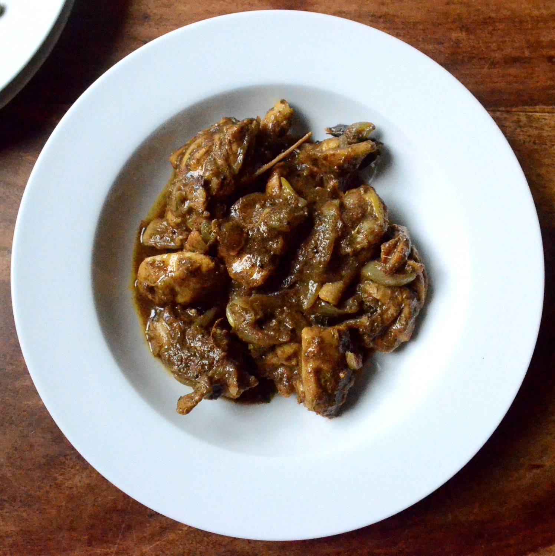 how to make coorg pork masala powder