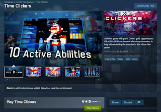 Time Clickers Steam Store Page