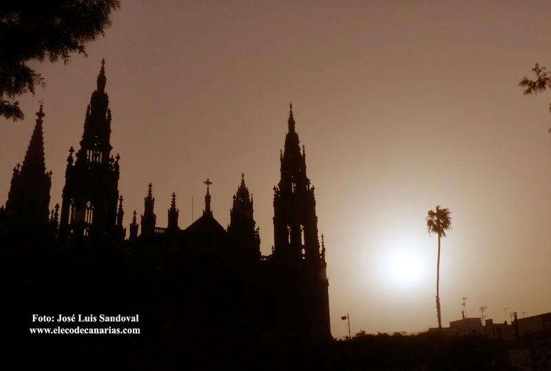 Calima sigue hoy en Canarias, 11 enero