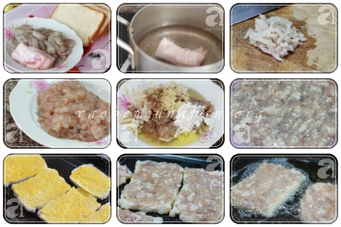 Cách làm bánh tôm lạ mà ngon lắm nhé 1