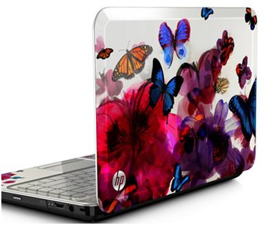"""Penampakan HP 14"""" Butterfly Blossom G4-2149se"""