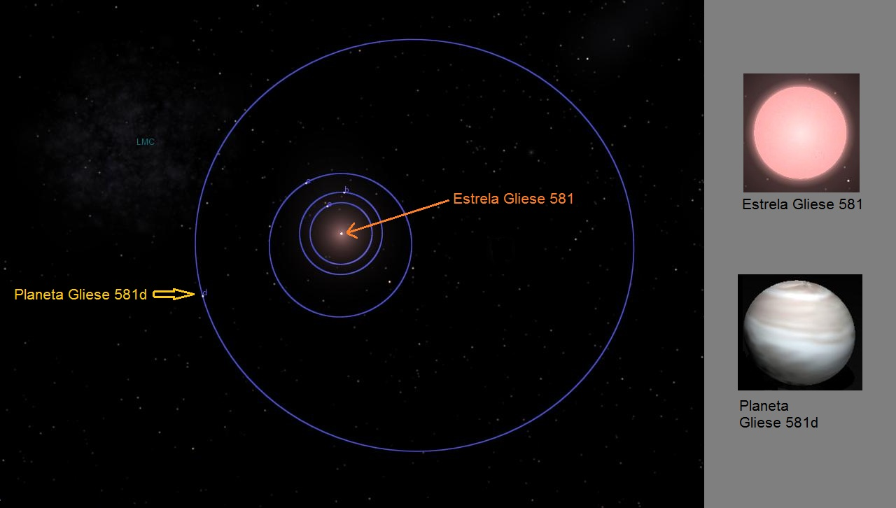 Gliese 581d - Pics about space
