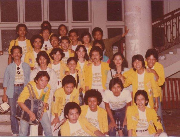 Ikang Fawzi, FISIP-UI, Jurusan Administrasi Niaga, 1979