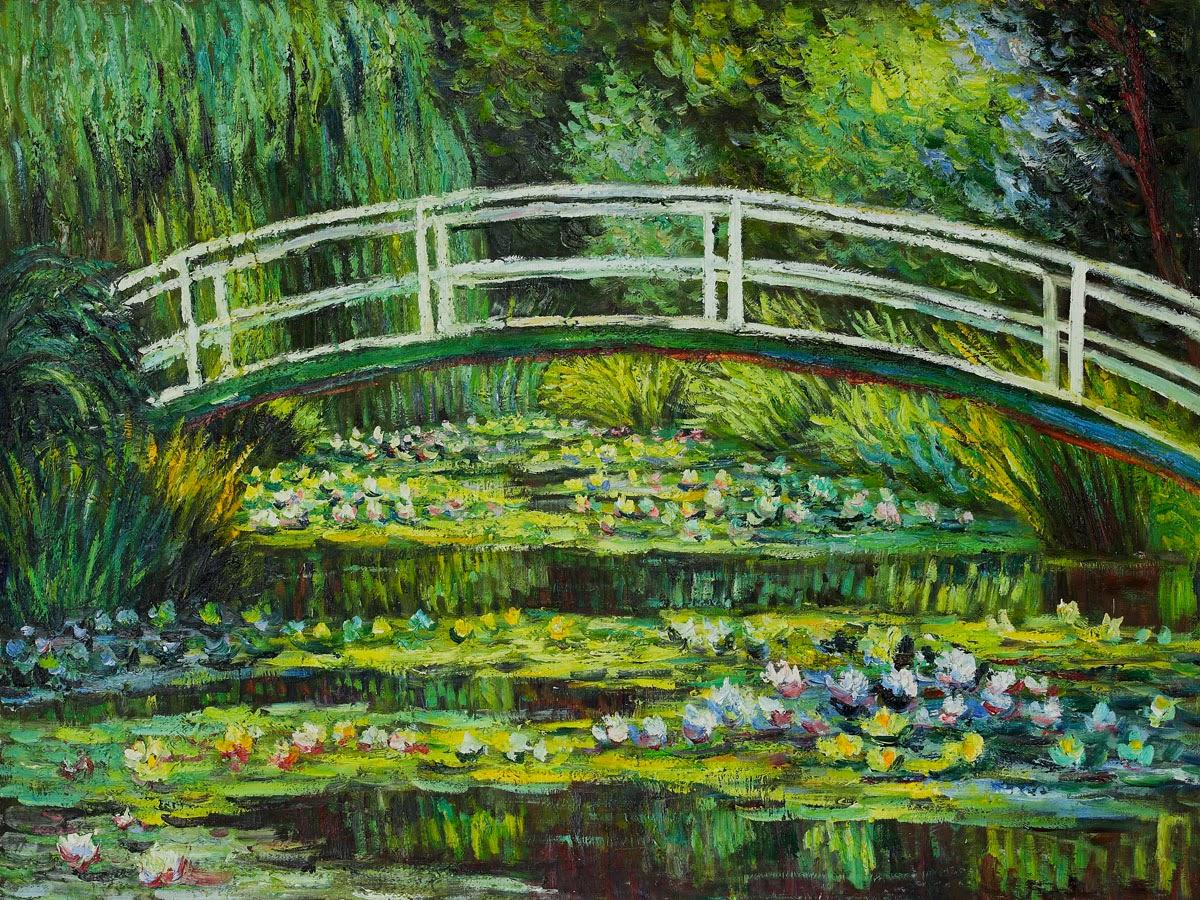 Artists for kids kindergarten claude monet for Art jardin creation