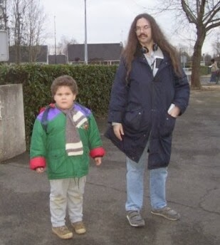 Valentin et Georges Huard en 2003