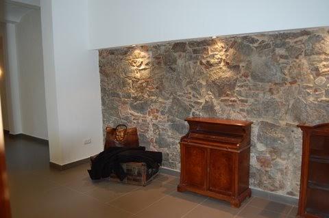 Gaminteriors paredes de obra vista en interiores - Paredes de piedra para interiores ...