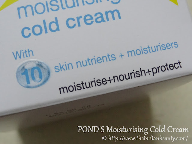 pond's cold cream review