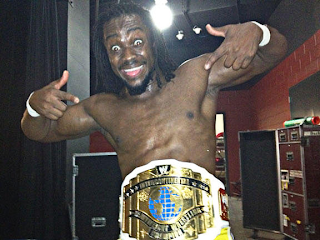 LUCHA LIBRE-Kofi Kingston vuelve al reinado intercontinental