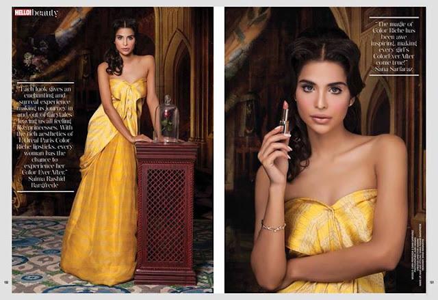 Sana Sarfaraz Photoshoot for Loreal Paris #ColorEverAfter
