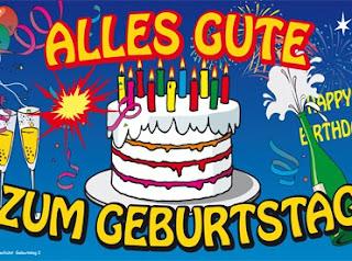 Ucapan selamat ulang tahun dalam bahasa jerman