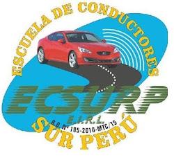 LOGO OFICIAL DE LA ESCUELA DE CONDUCTORES